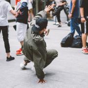 breakdance en calle